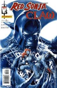 Red Sonja/Claw: Devil Hands #3 (Dynamite, 2006) - Jim Lee Variant