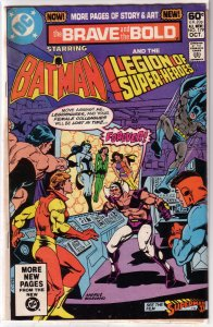 Brave and the Bold   vol. 1   #179 GD Batman/Legion of Super-Heroes, Colon