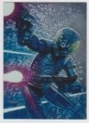 1996 Topps Finest Star Wars 4-LOM #86 Chromium