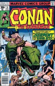 Conan the Barbarian (1970 series) #74, VG+ (Stock photo)
