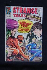Strange Tales #129, Dr. Strange, Human Torch, Ben Grimm