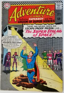 Adventure Comics #344 (1966)(newstand stamp)