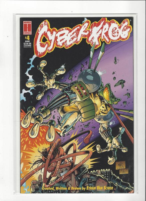 Cyber Frog #4 Harris Comics Ethan Van Sciver NM