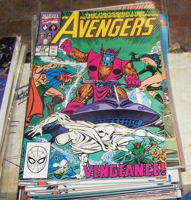 Avengers # 320 1990, Marvel atlantis quasar cap vision hercules eternals