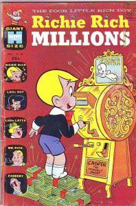Richie Rich Millions #40 (Mar-70) VG Affordable-Grade Richie Rich
