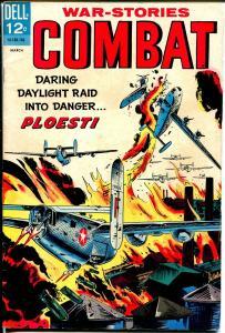 Combat #23 1967-Dell-Attack On Ploesti-Sam Glanzman-FN
