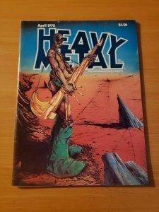 Heavy Metal Vol. 1 #13 ~ VF - NEAR MINT NM ~ April 1978 illustrated Magazine