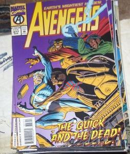 Avengers # 377 (Aug 1994, Marvel) QUICK AND THE DEAD+SCARLET WITCH