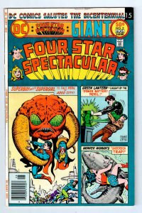 DC GIANT FOUR STAR SPECTACULAR #3, FN, Wonder Woman, DC, 1976, more in store