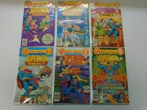 Superman Family lot 17 different from #182-199 avg 5.0 VG FN (1977-80)