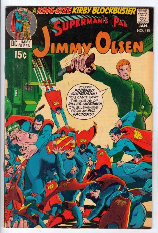 Jimmy Olsen, Superman's Pal  #135 (Jan-71) VF/NM High-Grade Jimmy Olsen