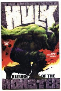 Incredible Hulk #34 2002 Marvel comic book NM-