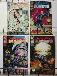 DEATHSTROKE THE TERMINATOR (1991)17-20 Nuclear Winter