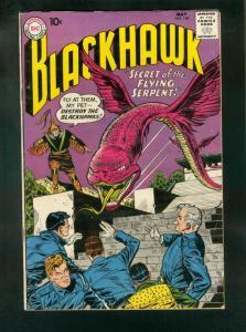 BLACKHAWK COMICS #148 1960-DC COMICS-MOON TRAVEL-ROBOT-fine FN