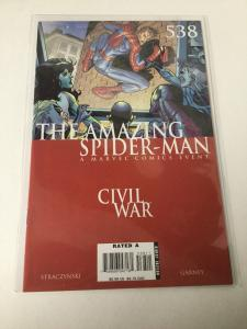 The Amazing Spider-Man 538 Nm Near Mint Marvel