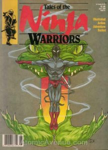 Tales of the Ninja Warriors #3 VF; CFW | save on shipping - details inside