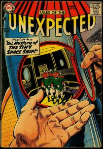 Tales of the Unexpected #26 1958- DC Sci-fi Silver Age VG