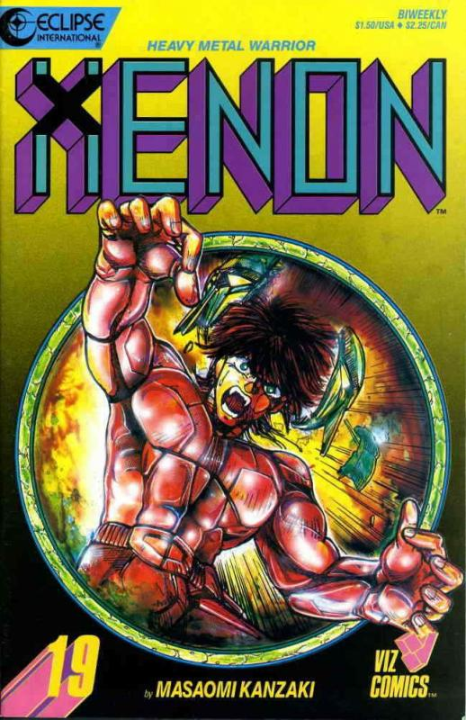 Xenon #19 VF; Eclipse | save on shipping - details inside