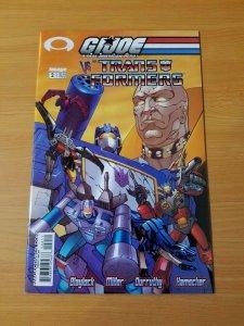 G.I.Joe Vs. Transformers #2 ~ NEAR MINT NM ~ (2003, Image Comics)