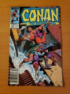 Conan The Barbarian #215 Newsstand Edition ~ NEAR MINT NM ~ 1989 Marvel
