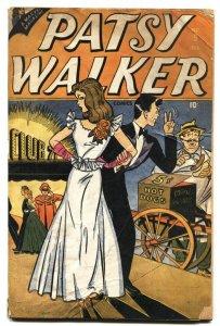 Patsy Walker #9 comic book 1947-Marvel-Daisy-Willie-spicy Good Girl Art