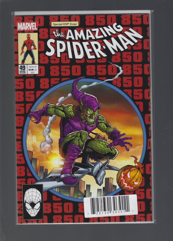 Dynamic Forces AMAZING SPIDERMAN #49 LIM HOMAGE EXCLUSIVE