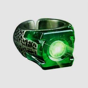 Green Lantern Power Ring - 2011 movie Prop Replica - Light Up works - No Box