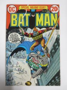 BATMAN 247 VF  February 1973 COMICS BOOK