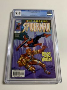 Amazing Spider-man V Vol Volume 2 # 7 Cgc 9.8 022 White Pages Marvel Legacy #448
