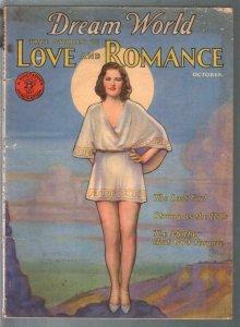 Dream World Love and Romance 10/1931-Dorothy Flood Ziegfeld Follies girl cove...