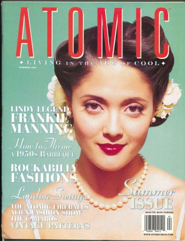 Atomic-The Magazine of Retro Culture-Summer 1999-pin-ups-culture-music-VF