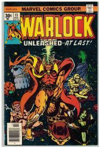 WARLOCK  (1972) 15 F-VF Nov. 1976