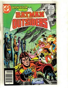 12 Batman and the Outsiders DC Comics # 2 3 4 6 7 9 10 13 15 16 17 18 Robin WS1
