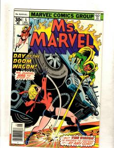 Ms. Marvel # 5 NM Comic Book Vision Avengers Iron Man Hulk Thor FM5