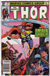Thor   vol. 1   #311 FN Tales of Asgard, Moench/Pollard