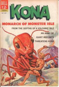 KONA 7 FINE July-Sept. 1963 COMICS BOOK