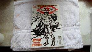 06 DC COMICS THE OMAC PROJECT # 1 ( BLACK & WHITE COVER )