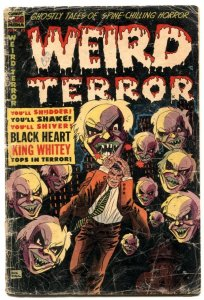 Weird Terror #12 1954- Precode horror- missing centerfold
