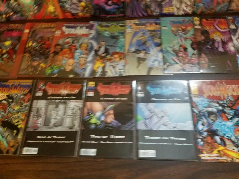 Stormwatch #0 + 1-50 + Specials 1-2 Complete Set Run! ~ NEAR MINT NM ~ Image