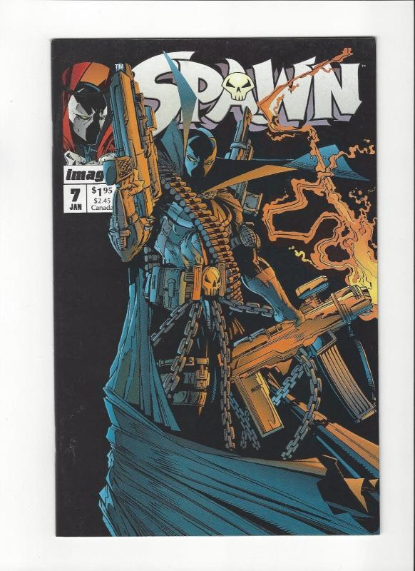 Spawn #7 Image Comics Classic Cover McFarlane Art NM/M