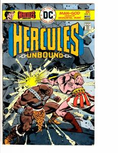 4 DC Comics Hercules 3 Justice League 132 Action Comics 444 FBT Unknown 23 J201