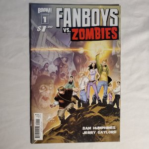 Fanboys vs. Zombies 1 Very Fine+ Cover by Matteo Scalera