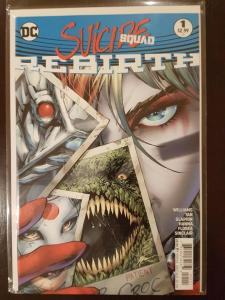 SUICIDE SQUAD #1, NM, Philip Tan, Rebirth, 2016, more Harley Quinn in store