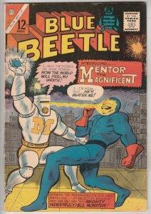 Blue Beetle #56 (Aug-66) VF+ High-Grade Blue Beetle (Ted Kord)