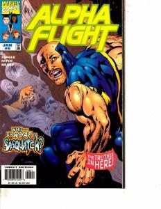 Lot Of 3 Alpha Flight Marvel Comic Books #6 7 15  BH52