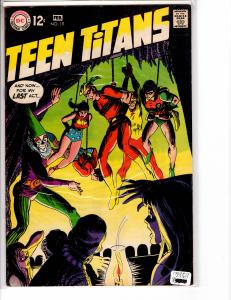 Teen Titans (1966) 19 Very Fine - (7.5)