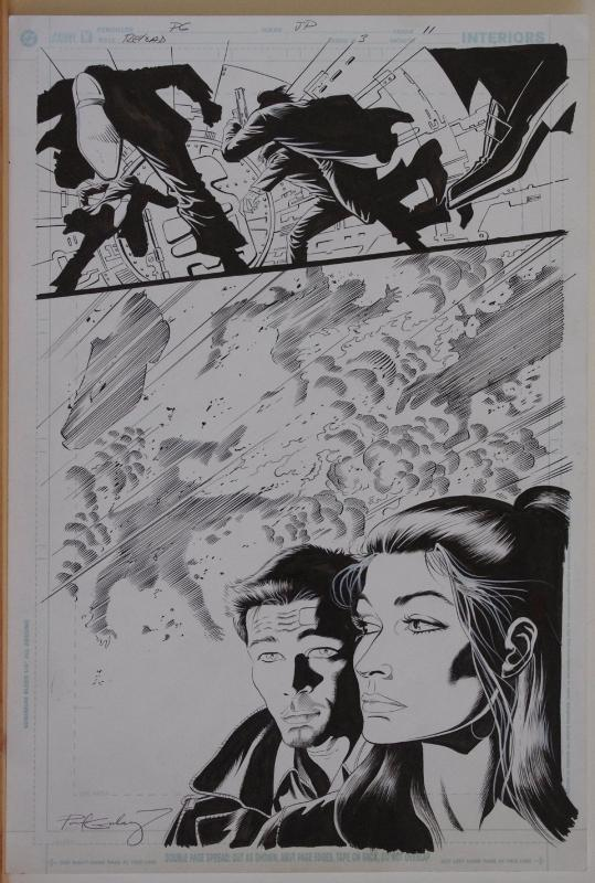 PAUL GULACY / JIMMY PALMIOTTI original art, RELOAD #3 pg 11, Hitwoman, Boom