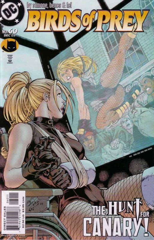 Birds of Prey #60 VF; DC | save on shipping - details inside