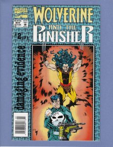Wolverine and the Punisher #2 VF/NM