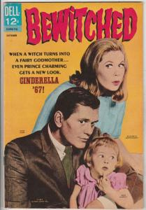 Bewitched #11 (Oct-67) VG/FN Mid-Grade Samantha (Elizabeth Montgomery), Darin...